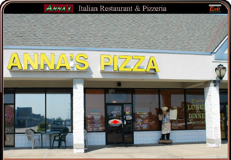 Photo of Meeting Location Anna's Pizza